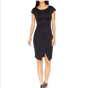 Bar III Women's Envelop Sheath Dress